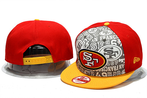 San Francisco 49ers 2014 Draft Reflective Snapback Hat YS 0613